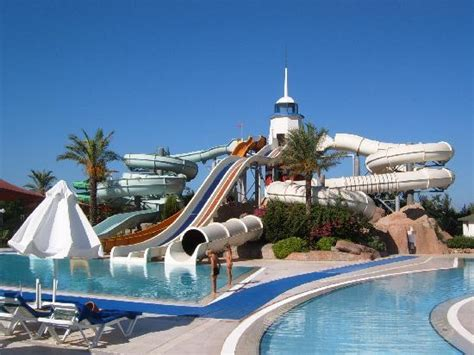 It's Own Water Park! - Picture of Titanic Beach Lara Hotel