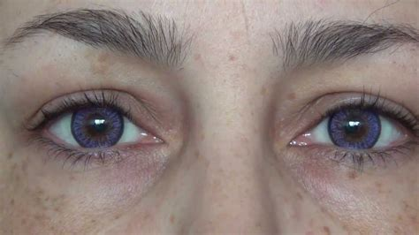 the real and autentic THE DOLLY EYE violet JoLens Review