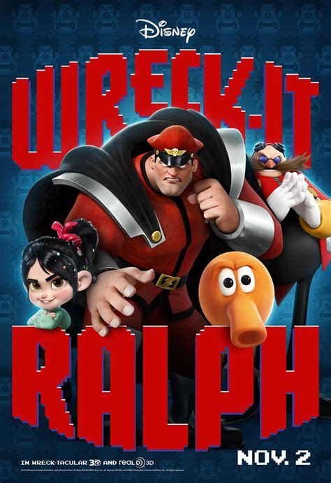First Character Posters for Disney's Wreck-It Ralph
