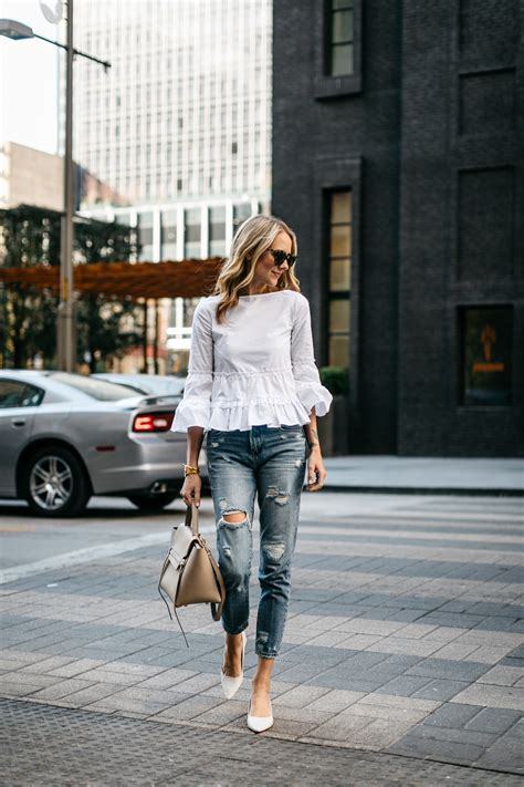 THE PERFECT RUFFLE TOP FOR SPRING   Fashion Jackson
