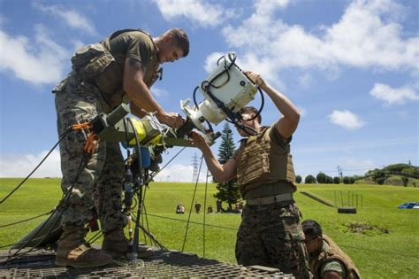 Marines conduct field test of laser-based communications