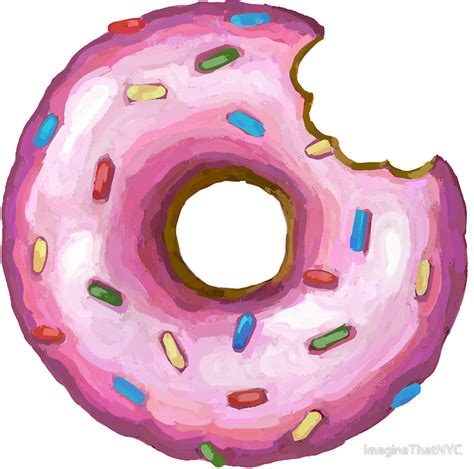 Donut With Bite Png & Free Donut With Bite