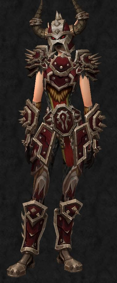 Honorbound Centurion's Plate (Weekly Recolor)