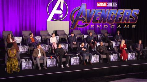 Watch the full Avengers: Endgame global press conference