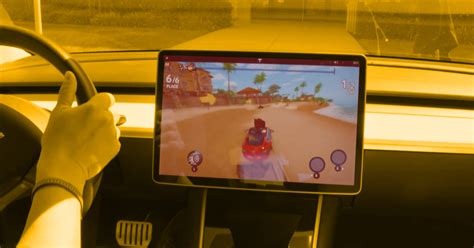 New Tesla Racing Game Uses Car's Actual Steering Wheel and