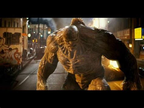 the increible hulk vs abomination - YouTube